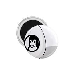 LIUX TUX EGG BRAND 1.75  Button Magnet