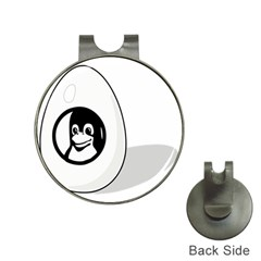 LIUX TUX EGG BRAND Hat Clip with Golf Ball Marker
