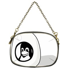 LIUX TUX EGG BRAND Chain Purse (One Side)