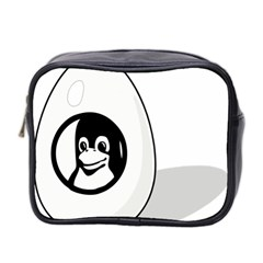Liux Tux Egg Brand Mini Travel Toiletry Bag (two Sides)