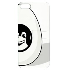 LIUX TUX EGG BRAND Apple iPhone 5 Hardshell Case with Stand