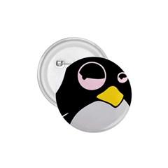 Lazy Linux Tux Penguin 1.75  Button