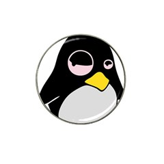 Lazy Linux Tux Penguin Golf Ball Marker 10 Pack (for Hat Clip)