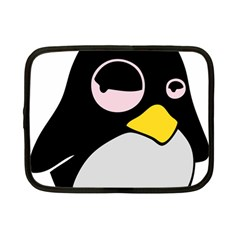 Lazy Linux Tux Penguin Netbook Sleeve (small)