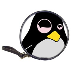 Lazy Linux Tux Penguin CD Wallet