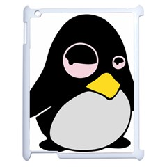 Lazy Linux Tux Penguin Apple Ipad 2 Case (white)