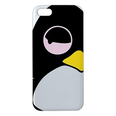 Lazy Linux Tux Penguin iPhone 5 Premium Hardshell Case