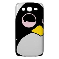 Lazy Linux Tux Penguin Samsung Galaxy Mega 5 8 I9152 Hardshell Case