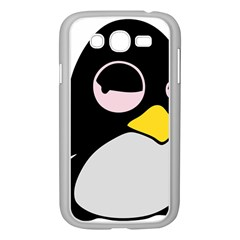 Lazy Linux Tux Penguin Samsung Galaxy Grand DUOS I9082 Case (White)