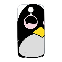 Lazy Linux Tux Penguin Samsung Galaxy S4 I9500/i9505  Hardshell Back Case