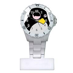 Lazy Linux Tux Penguin Nurses Watch