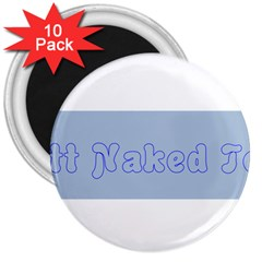 1logo2 3  Button Magnet (10 pack)