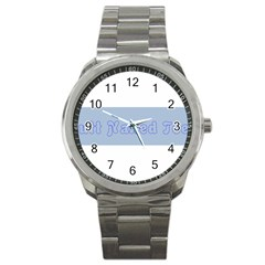 1logo2 Sport Metal Watch
