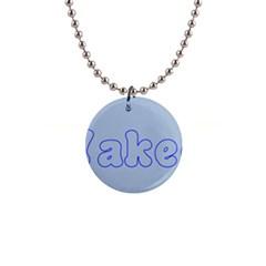 1logo2 Button Necklace