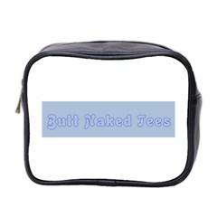 1logo2 Mini Travel Toiletry Bag (two Sides)