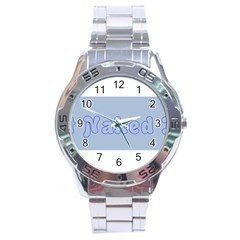 1logo2 Stainless Steel Watch