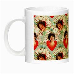 Vintage Valentine Glow in the Dark Mug
