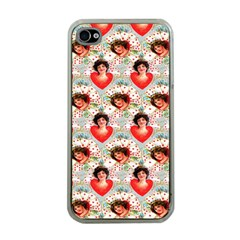 Vintage Valentine Apple iPhone 4 Case (Clear)