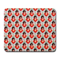 Vintage Valentine Large Mouse Pad (Rectangle)