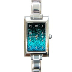 Glitter Dust 1 Rectangular Italian Charm Watch