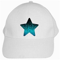 Glitter Dust 1 White Baseball Cap