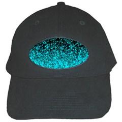 Glitter Dust 1 Black Baseball Cap