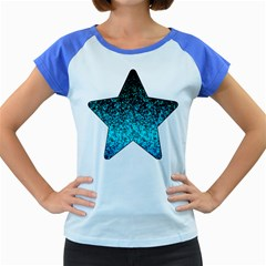 Glitter Dust 1 Women s Cap Sleeve T-Shirt (Colored)