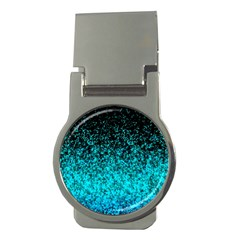 Glitter Dust 1 Money Clip (Round)