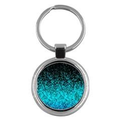 Glitter Dust 1 Key Chain (round)