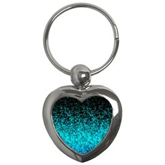 Glitter Dust 1 Key Chain (Heart)