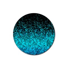 Glitter Dust 1 Drink Coasters 4 Pack (Round)