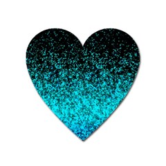 Glitter Dust 1 Magnet (heart)