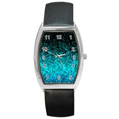 Glitter Dust 1 Tonneau Leather Watch