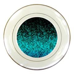 Glitter Dust 1 Porcelain Display Plate