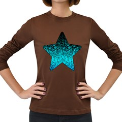 Glitter Dust 1 Womens' Long Sleeve T Shirt (dark Colored)