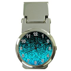 Glitter Dust 1 Money Clip with Watch