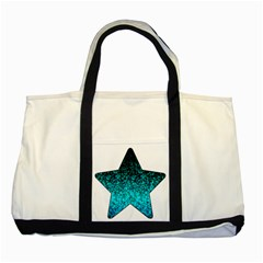 Glitter Dust 1 Two Toned Tote Bag