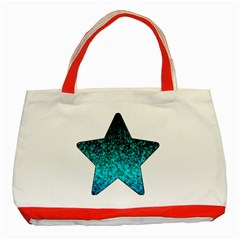 Glitter Dust 1 Classic Tote Bag (Red)