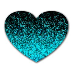 Glitter Dust 1 Mouse Pad (Heart)