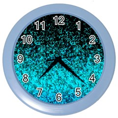 Glitter Dust 1 Wall Clock (color)