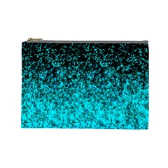 Glitter Dust 1 Cosmetic Bag (Large)