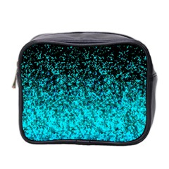 Glitter Dust 1 Mini Travel Toiletry Bag (two Sides)