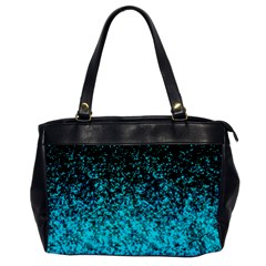 Glitter Dust 1 Oversize Office Handbag (one Side)