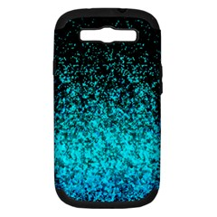 Glitter Dust 1 Samsung Galaxy S III Hardshell Case (PC+Silicone)