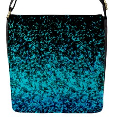 Glitter Dust 1 Flap Closure Messenger Bag (Small)