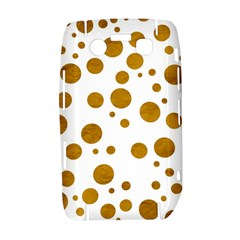 Tan Polka Dots BlackBerry Bold 9700 Hardshell Case