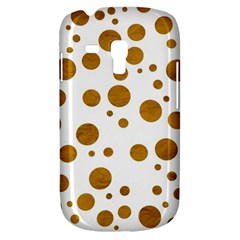 Tan Polka Dots Samsung Galaxy S3 Mini I8190 Hardshell Case