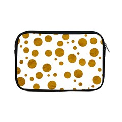 Tan Polka Dots Apple iPad Mini Zippered Sleeve