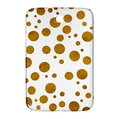 Tan Polka Dots Samsung Galaxy Note 8 0 N5100 Hardshell Case