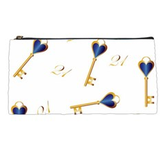 21st Birthday Keys Background Pencil Case
